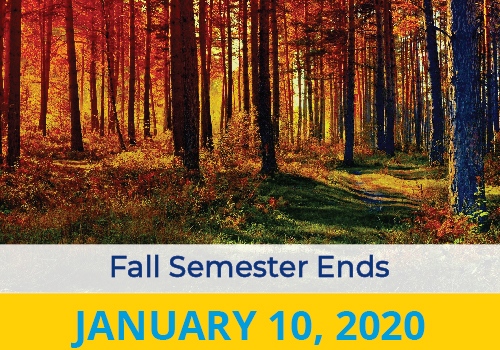 Fall Semester Ends 2020